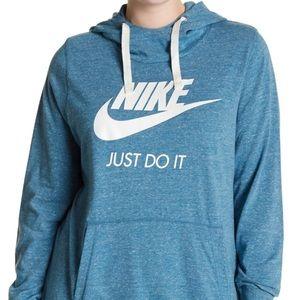 Nike Light Purple Sportswear Gym Hoodie